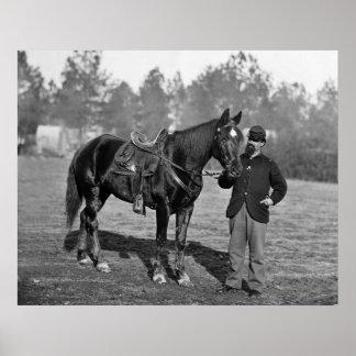 Civil War Horse, 1864 Poster