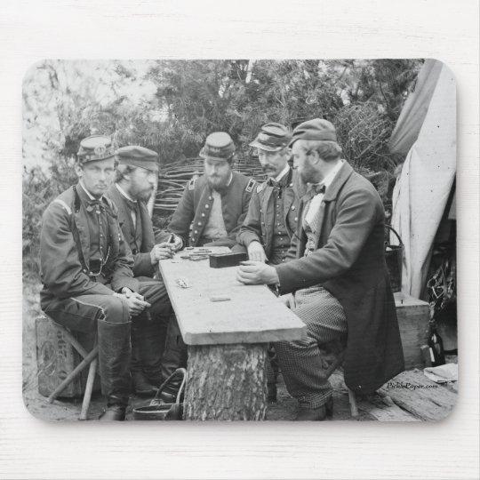 Civil War Mousepad, Dominoes Mouse Pad