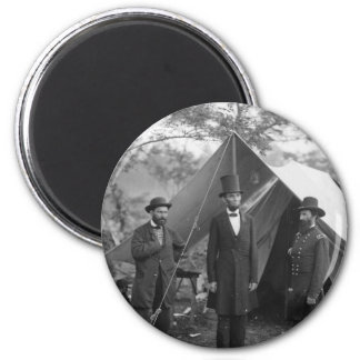 Civil War Photo Circa 1862 6 Cm Round Magnet