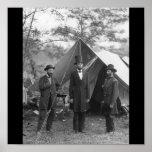 Civil War Photo Circa 1862 Poster