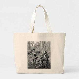 Civil War Pipes, 1864 Jumbo Tote Bag