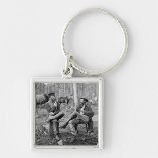 Civil War Pipes, 1864 Keychain