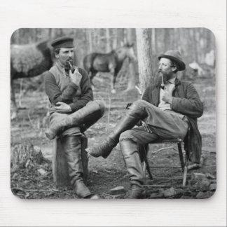 Civil War Pipes 1864 Mousepad