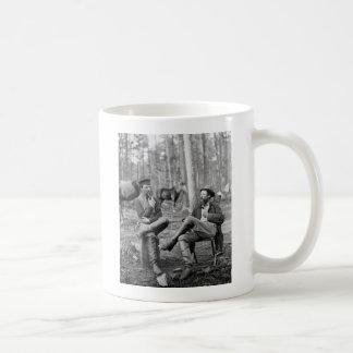 Civil War Pipes, 1864 Mugs
