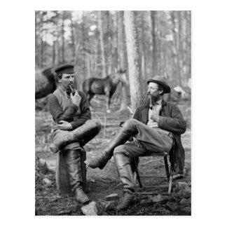 Civil War Pipes, 1864 Postcard