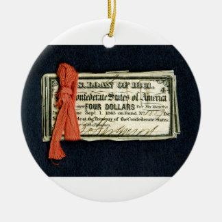 Civil War Red Tape Ornament