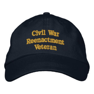 Civil War Reenactment Veteran hat - North Embroidered Hat