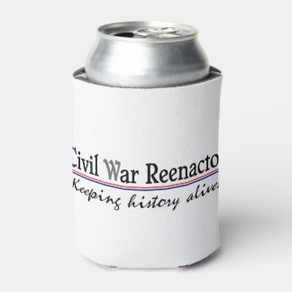 """Civil War Reenactor"" Can Cooler"