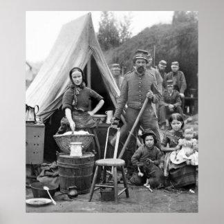Civil War Road Trip, 1861 Poster
