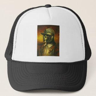Civil War Roundhead Skeleton Trucker Hat