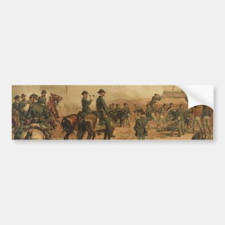 Civil War Siege of Atlanta by Thure de Thulstrup Bumper Sticker