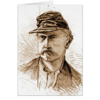 Civil War Soldier 1863 Greeting Card