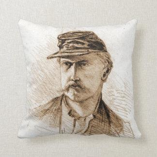 Civil War Soldier 1863 Throw Cushion