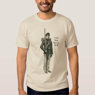 Civil War Soldier History Buff T-shirts