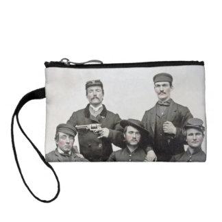 Civil War Soldiers Coin Clutch Change Purses