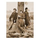 Civil War Three Officers