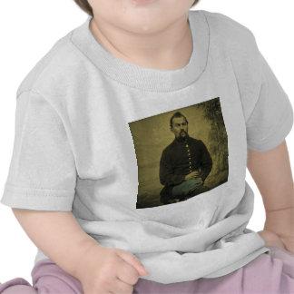 Civil War Union Soldier Tintype T-shirts