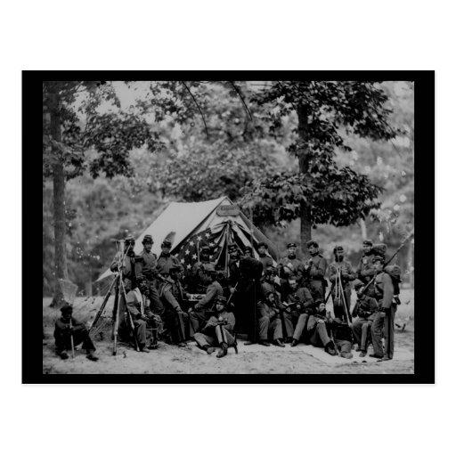 Civil War Vintage Photo Postcard