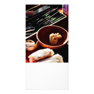 Civil Was Surgical Instruments Personalized Photo Card