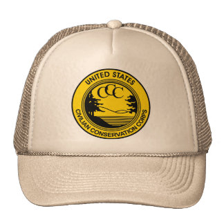 Civilian Conservation Corps CCC commemorative Cap