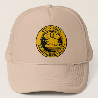 Civilian Conservation Corps CCC commemorative Trucker Hat