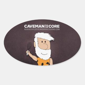 Civilized Caveman Cooking Sticker
