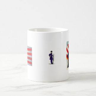 civilwar,4th Infantry Regiment Veteran Cup Basic White Mug