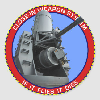 CIWS.png Classic Round Sticker