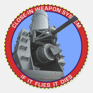 CIWS.png Round Sticker