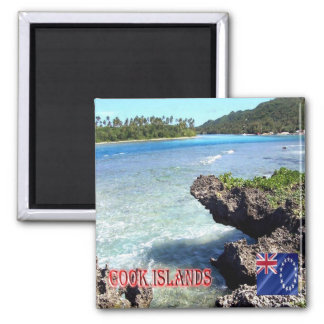 CK - Cook Islands - Rarotonga Beach Magnet