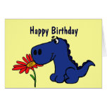 CK- Cute Dinosaur Birthday Card