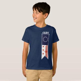 CKDF Little Fechter Kids Shirt