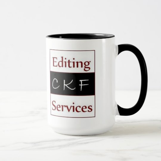 CKF Editing Services Mug (large)