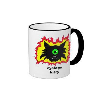 cklogo, cyclopskitty ringer mug
