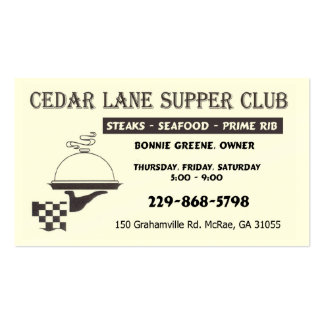 CL Biz card Double-Sided Standard Business Cards (Pack Of 100)