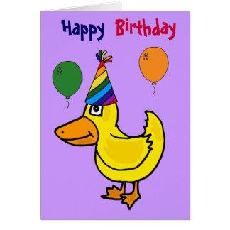 CL- Just Ducky Bitrthday Card