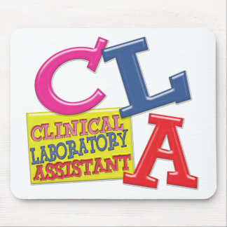 CLA WHIMSICAL  CLINICAL LABORATORY ASSISTANT MOUSE PAD