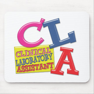 CLA WHIMSICAL  CLINICAL LABORATORY ASSISTANT MOUSE PADS