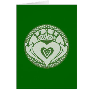 Claddagh Card