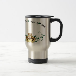 Claddagh / Claddaugh Travel Mug