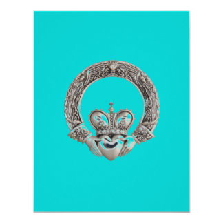 "Claddagh Invitations 4.25"" X 5.5"" Invitation Card"