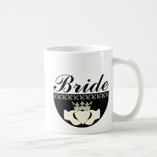 Claddagh Wedding Invitation Set Basic White Mug