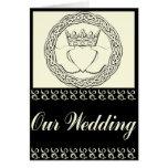 Claddagh Wedding Invitation Set Greeting Cards