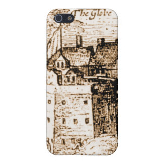 Claes Jansz Visscher Globe Theatre Engraving iPhone 5 Cases