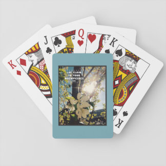 Claim Your Magnificence Playing Cards