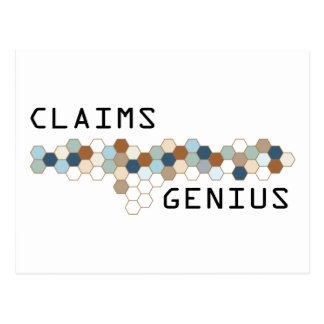 Claims Genius Postcards