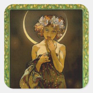 Clair de Lune Square Sticker