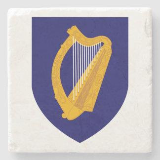 Cláirseach: Irish Harp Coaster Stone Coaster