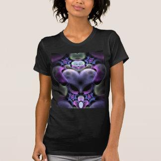 Clairvoyant Heart Fractal T-shirt