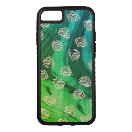 Clam Seashells and Ocean Waves Phone Case